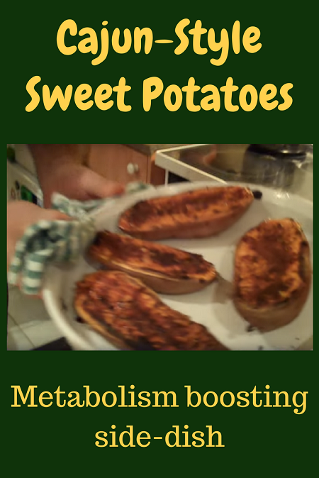 Cujun-Style Sweet Potatoes - Metabolism Boosting Recipe