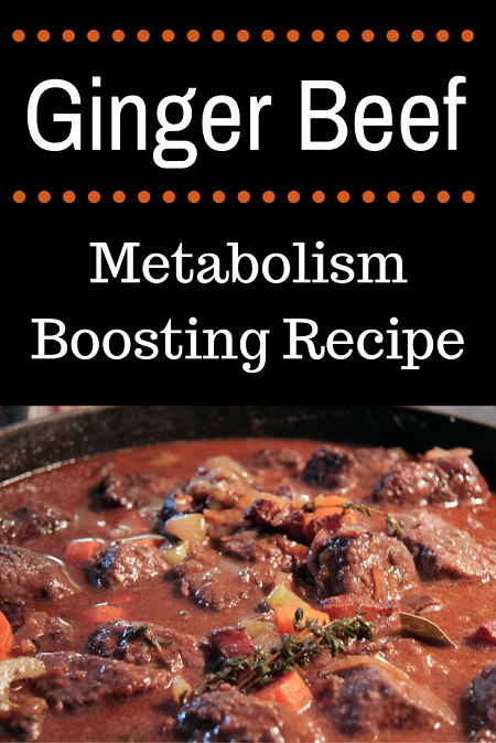 Ginger Beef - Metabolism Burning Recipe