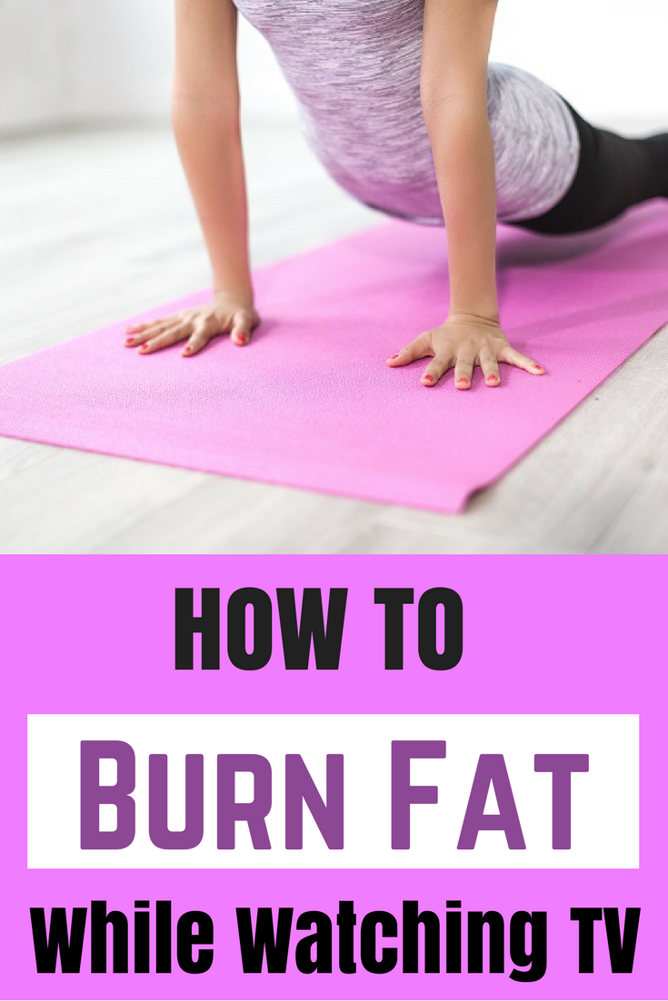 How to burn belly fat while watching tv. Fat loss, weight loss