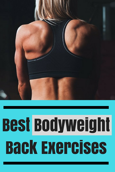 Best Bodyweight Back Exercises