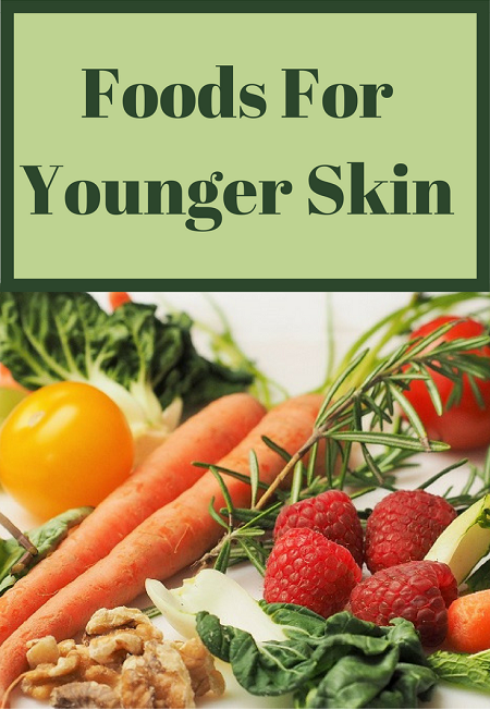 Anti-Aging Foods For Younger Skin