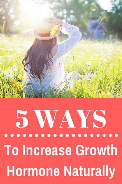 5 Ways to increase growth hormone naturally. Unleash your natural fountain of youth. The secret to staying young and lean.