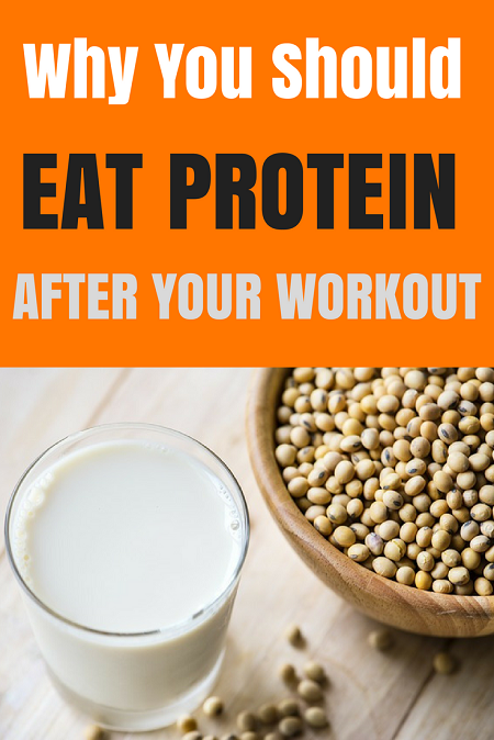 Why you should eat some protein after your workout. Maintain those muscles and don't let your hard work go to waste.