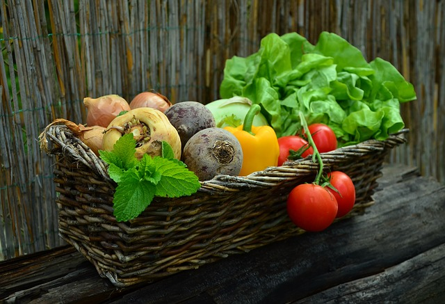 vegetables-in a basket