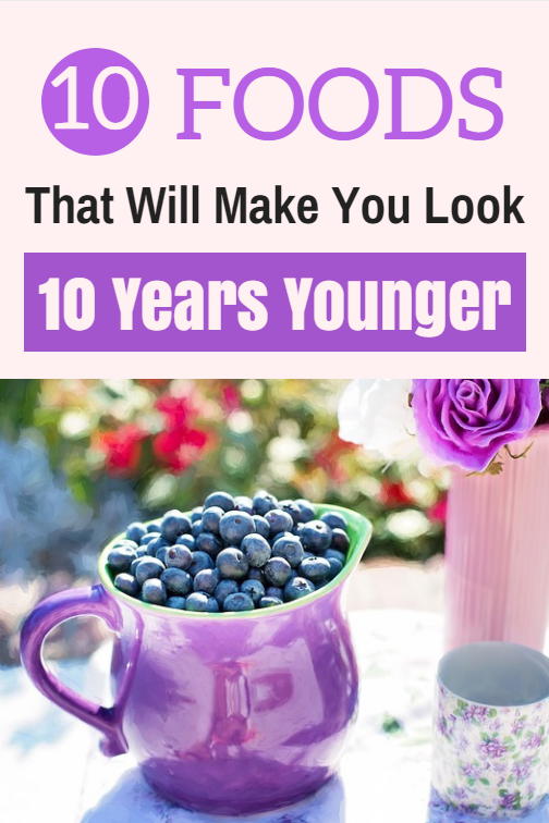 These natural anti-aging foods can help you look and years younger.