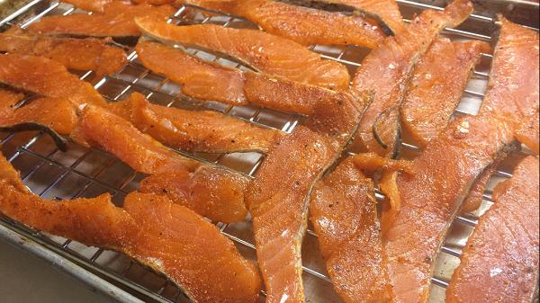 salmon-jerky
