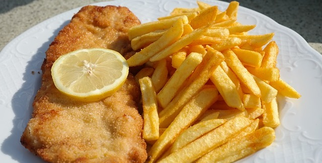fish and chips - fried foods and belly fat