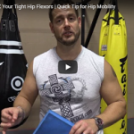 How to relax tight hip flexors