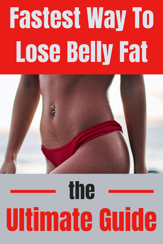 Fastest Way To Lose Belly Fat - The Ultimate Guide: Why is abdominal fat so stubborn and what can you do to get rid of it quickly.