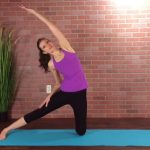 simple 5 minute yoga routine for a healthy back