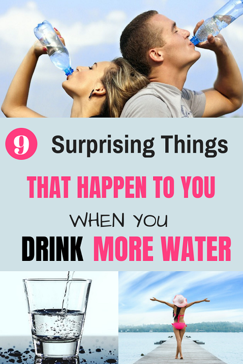 The most important benefits of drinking more water.