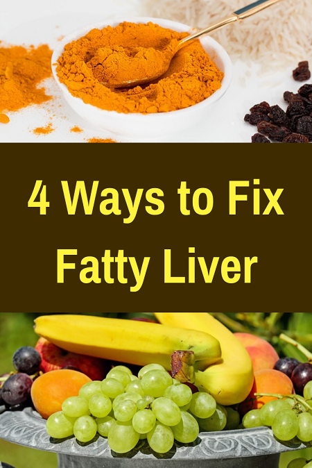 4 Ways to Fix Fatty Liver