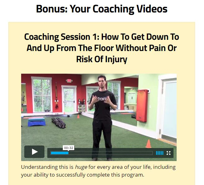 My Back Pain Coach Coaching Session