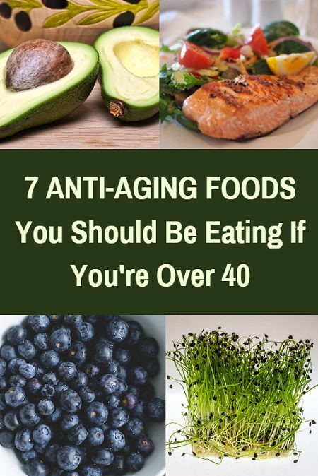 7 Anti-aging foods you should be eating if you're over 40.