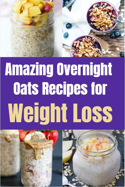 Amazing overnight oats recipes for weight loss. These delicious recipes provide the ultimate nutritious, healthy and filling breakfast for busy people.