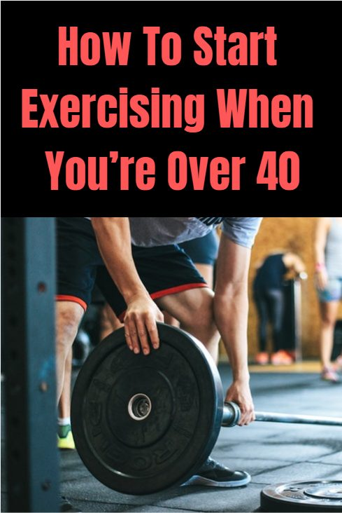 How to start exercising when you are over 40 without endangering your joints. Simple tips to get toned over 40.