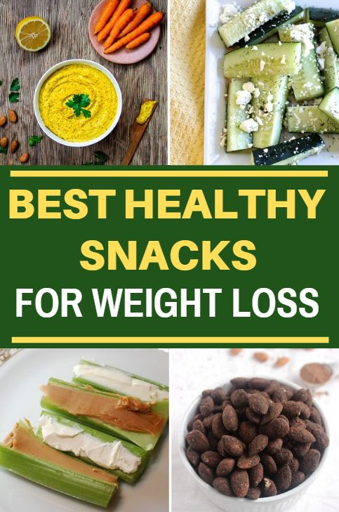 Best healthy snacks for weight loss. These delicious low calorie snacks will keep hunger at bay and provide you with a ton of healthy nutrients at the same time.
