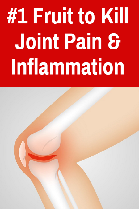 Best fruit to reduce joint pain and inflammation naturally. Research shows that eating more of this food can provide relief from joint pain and battles the inflammation that is often the root cause.