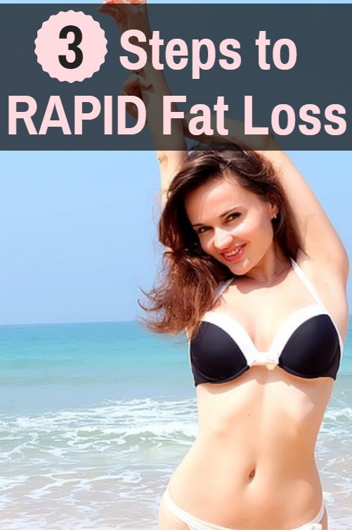 3 Steps to RAPID Fat Loss. These simple tricks will kickstart your metabolism and help you get rid of excess fat in a hurry.