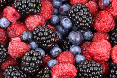 Berries - fat burning food