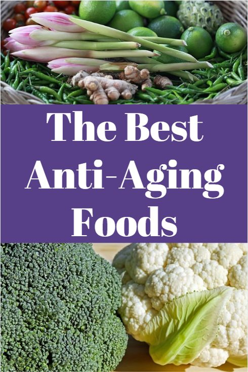 The best anti-aging foods. These should be an important part of any anti-aging or detox diet.