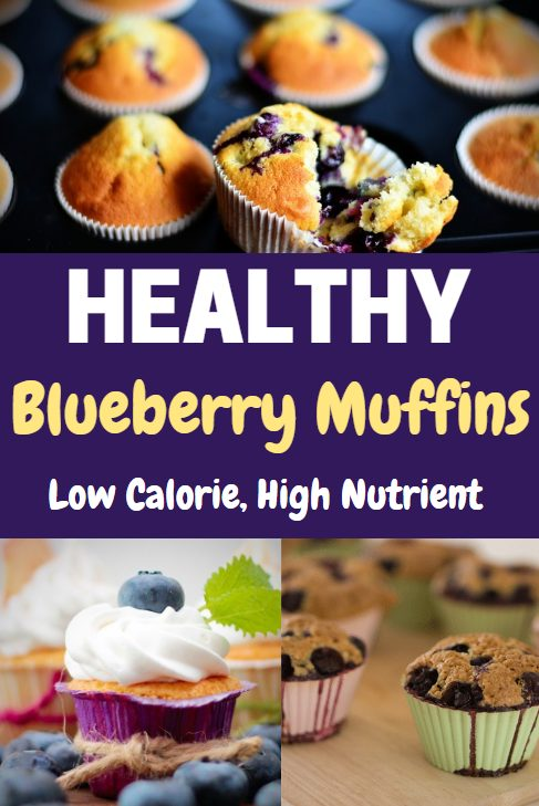 These healthy blueberry muffins recipes are a great low-calorie, nutrient dense snack.