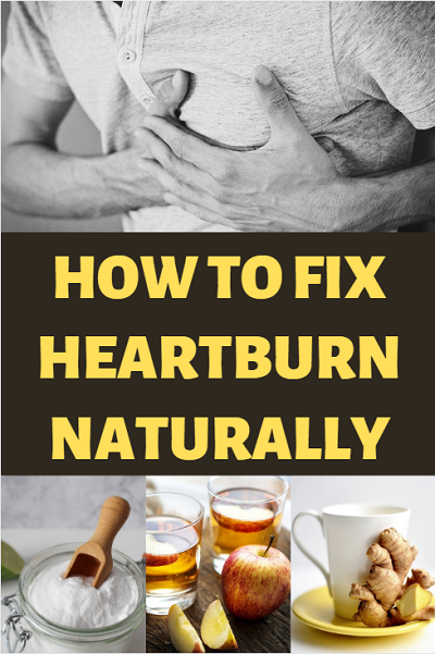 How to fix heartburn, acid reflux and GERD naturally. Simple fixes for quick heartburn relief and permanent fixes to cure reflux.