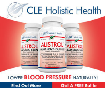 Alistrol natural heart health support.