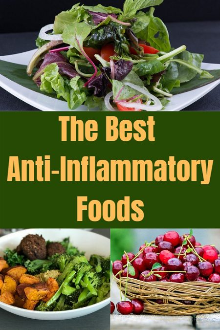 The best anti-inflammatory foods. Keep inflammation and the health issues associated with it at bay with these healthy foods.