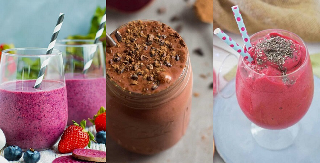 Delicious Beetroot Powder Smoothies header