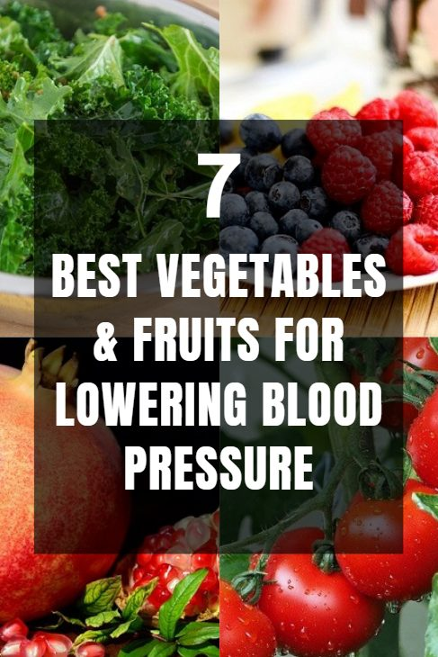 7 best vegetables and fruits for lowering blood pressure.