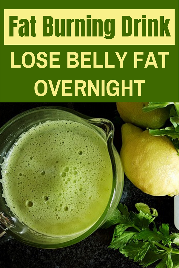Fat burning drink that boosts your metabolism and burns fat while you sleep.
